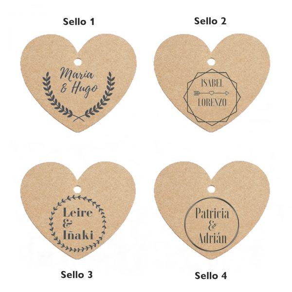 etiquetas corazon ejemplo