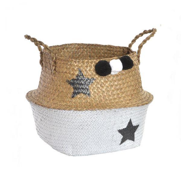 cesta blanca estrellas pompones 1440x1440 1