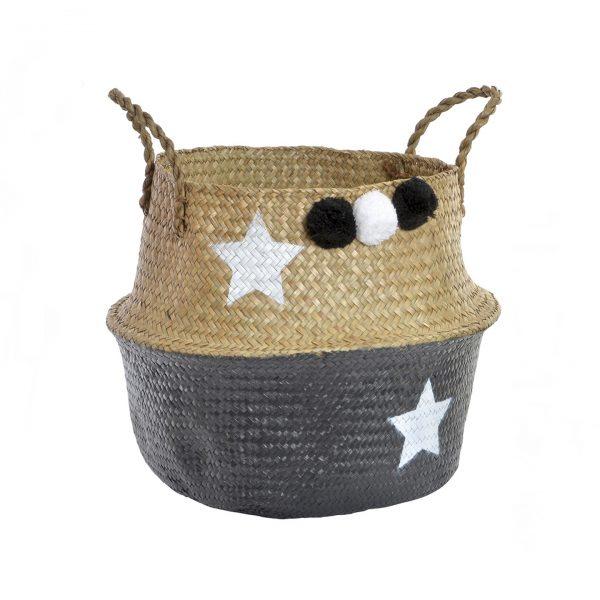 cesta negra estrellas pompones 1440x1440 1