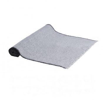 alfombra gris flecos infantil 1440x1440