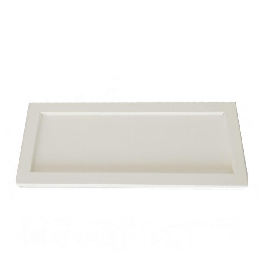 bandeja blanca rectangular 1