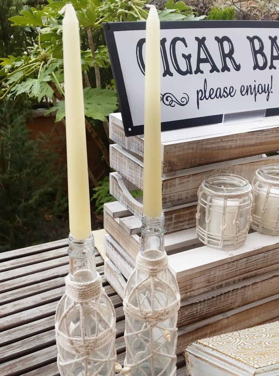 botellas cuerda con velas2 1440x1942
