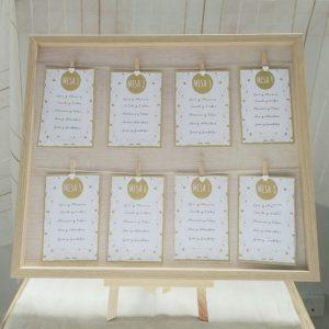 seating plan marco colgante madera