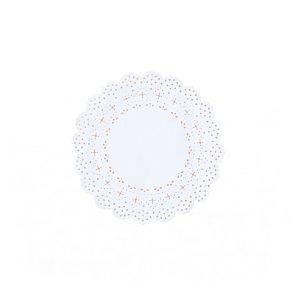 tapete blonda papel 10cm