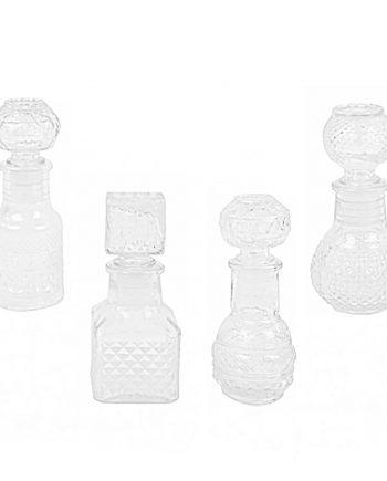 mini licoreras cristal tallado