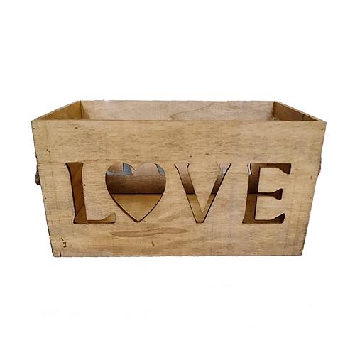 caja love asa cuerda clara