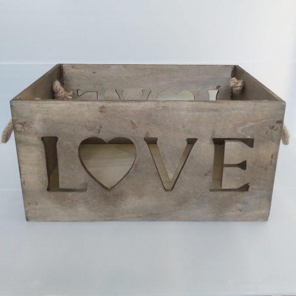 caja love asa cuerda oscuro