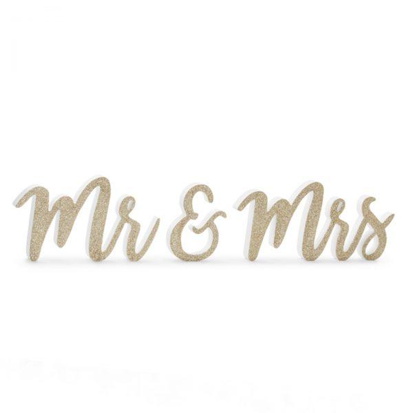 Mr and Mrs cursiva