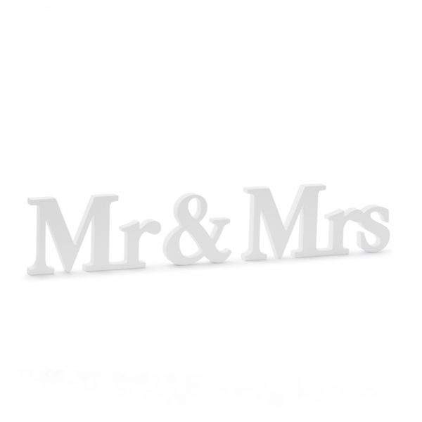 Mr and Mrs minusculas