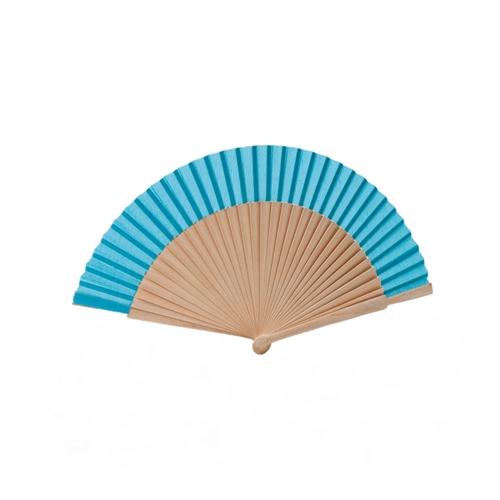abanico azul s