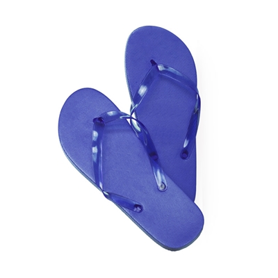 chanclas azul s