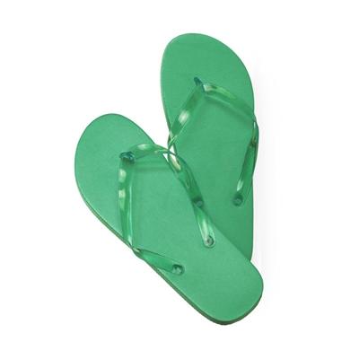 chanclas verdes s