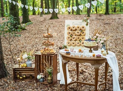 donuts panel madera entorno s