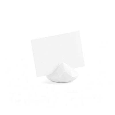 soporte diamante blanco