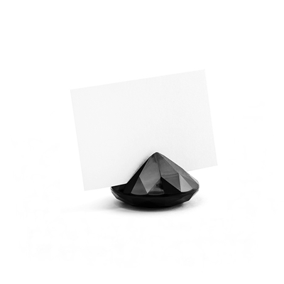 soporte diamante negro