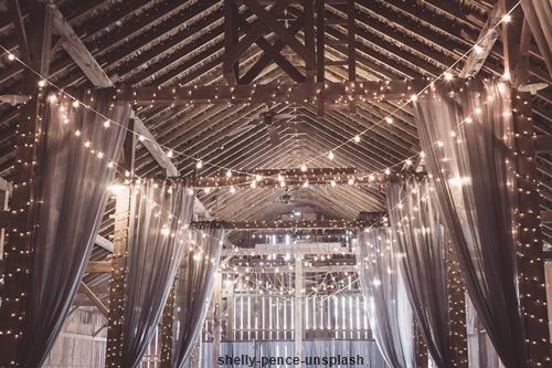 guirnalda luces boda basicas