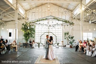 guirnalda luces boda vintage